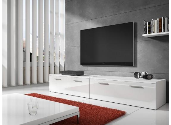 TV-Meubel Diana 2 - Wit - 200 cm - ACTIE