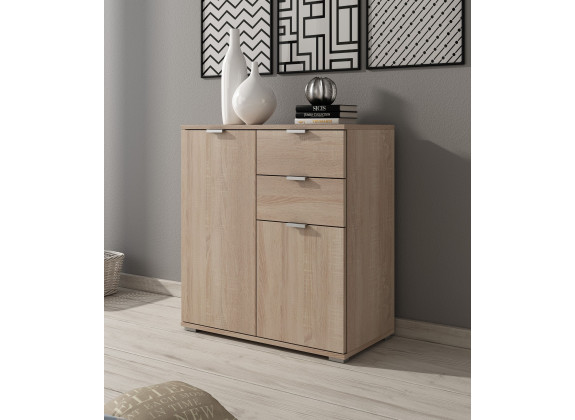 Dressoir Adita 4 - Licht eiken - 71 cm
