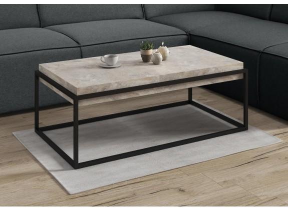Salontafel Ferran - Beton - 115 cm