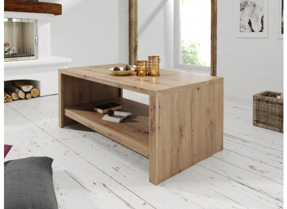 Salontafel Melody - Eiken - 120 cm