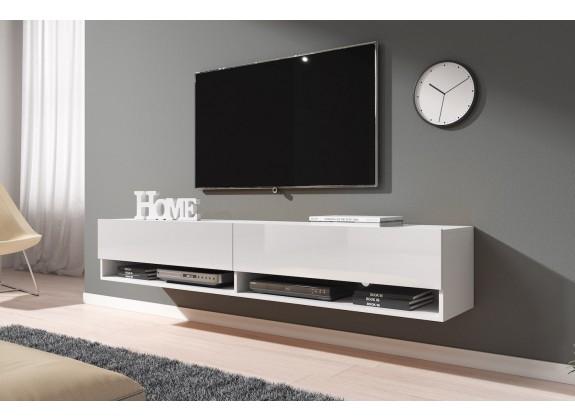 TV-Meubel Asino - Wit - 180 cm