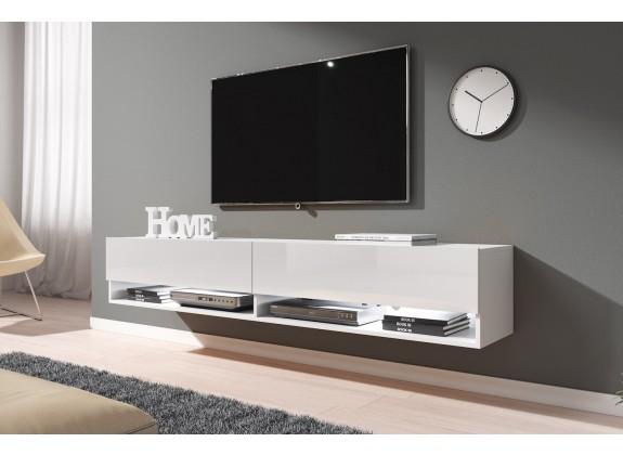 TV-Meubel Asino LED - Wit - 180 cm
