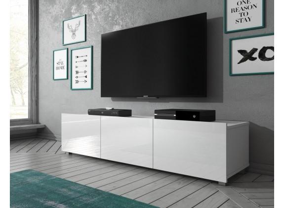 TV-Meubel Calgary - Wit - 150 cm - Staand