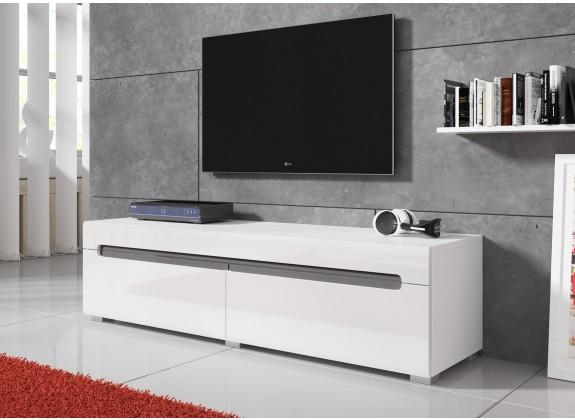 tv meubel danny wit 140 cm tv meubels kasten en vitrinekasten woonkamer meubella. Black Bedroom Furniture Sets. Home Design Ideas