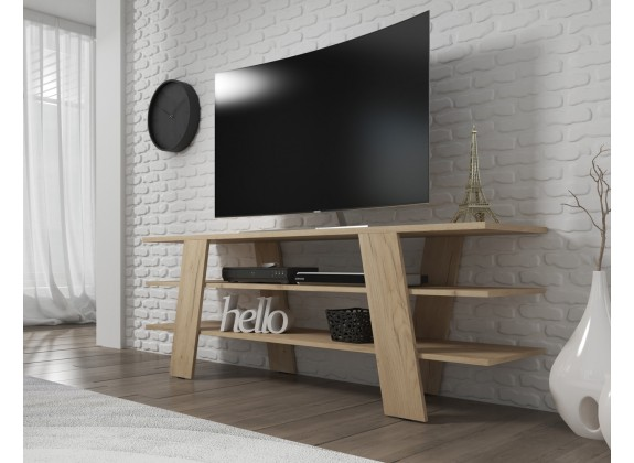 TV-Meubel Valley - Eiken - 130 cm