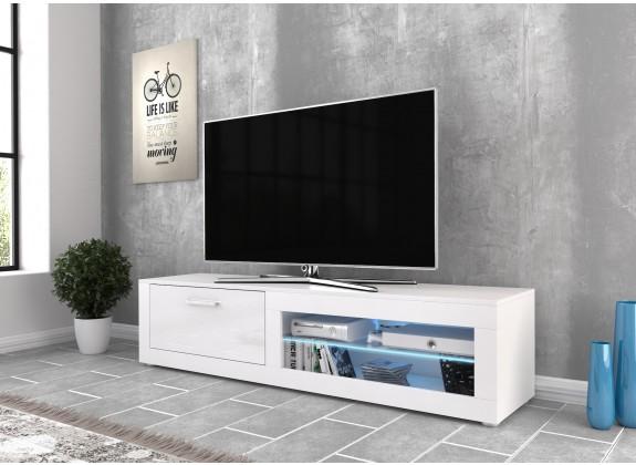 TV-Meubel Venzo LED - Wit - 160 cm