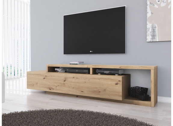 TV-Meubel Bello - Eiken - 219 cm