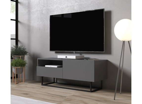 TV-Meubel Eos 2 - Grijs - 120 cm