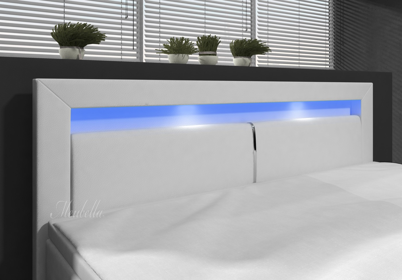 boxspring matratze 140x200 box spring bed 160x200 cm pu leather king size ikea box spring. Black Bedroom Furniture Sets. Home Design Ideas