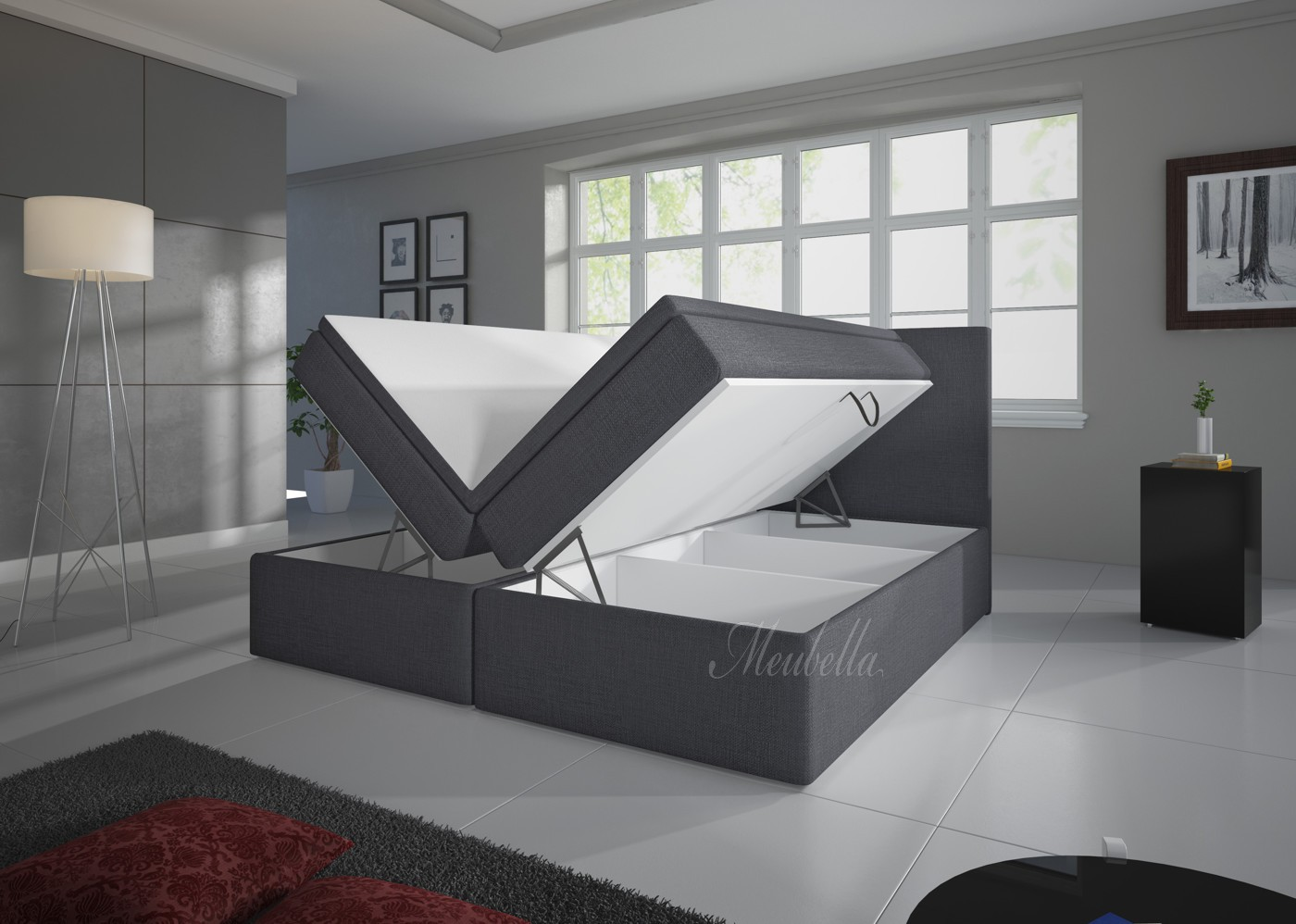 stauraum bett 160x200 25 best ideas about bett mit. Black Bedroom Furniture Sets. Home Design Ideas