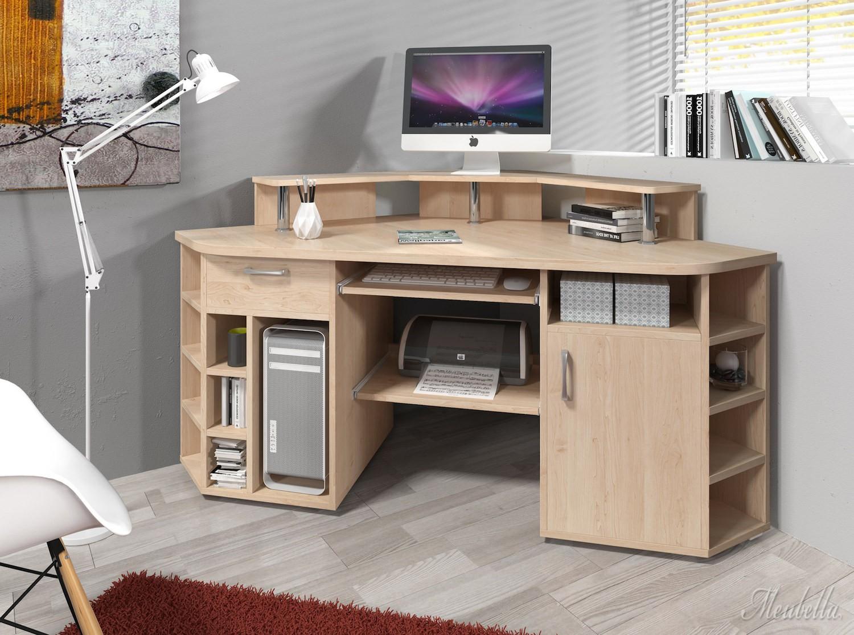 bureau vanessa licht eiken overig woonkamer meubella. Black Bedroom Furniture Sets. Home Design Ideas