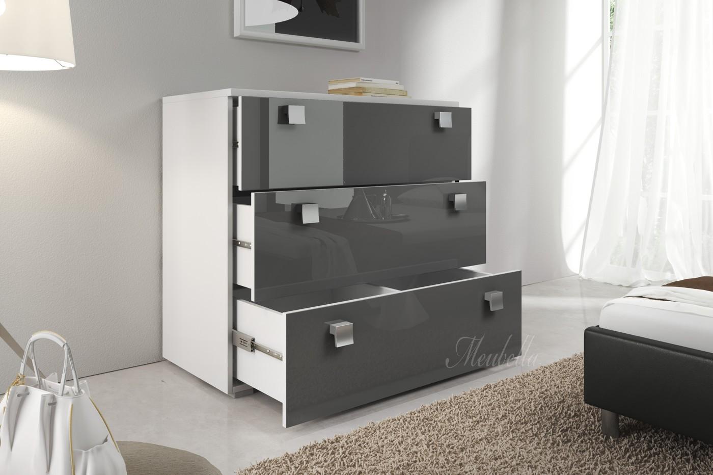 Commode kast slaapkamer for Dressoir slaapkamer