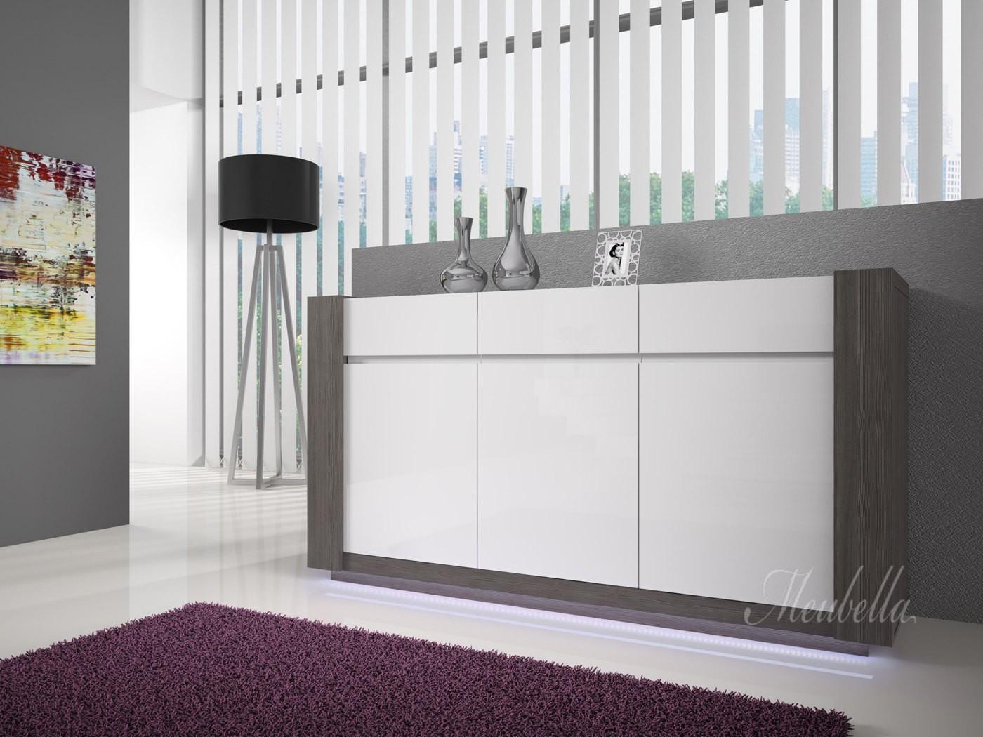 Witte Kast Woonkamer : Kast woonkamer wit sollefte nieuw ikea ikeanl wit lamp