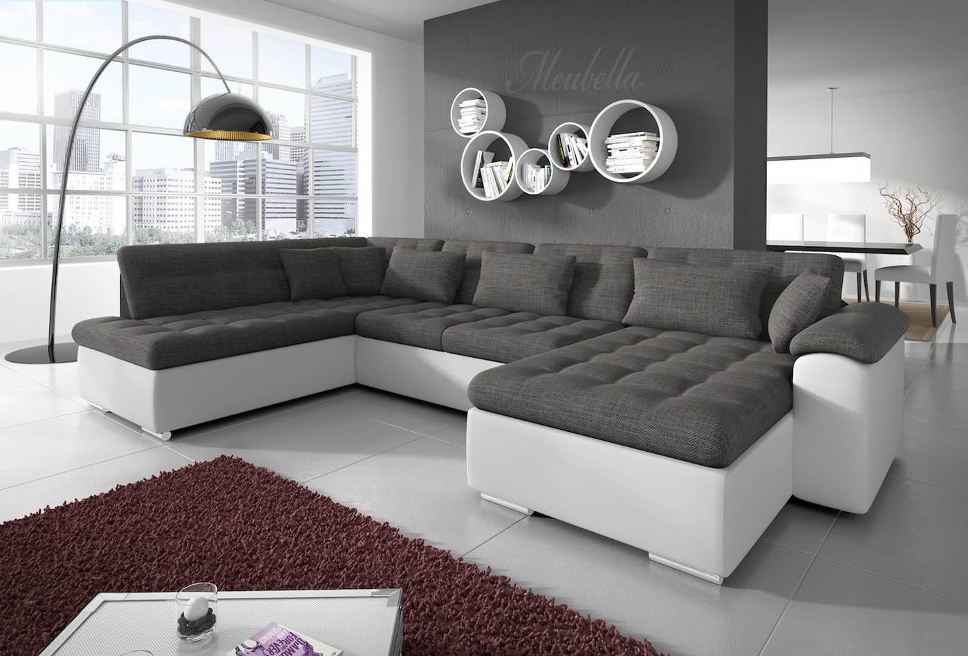 Lounge grijs wit raum und m beldesign inspiration - Lounge grijs ...