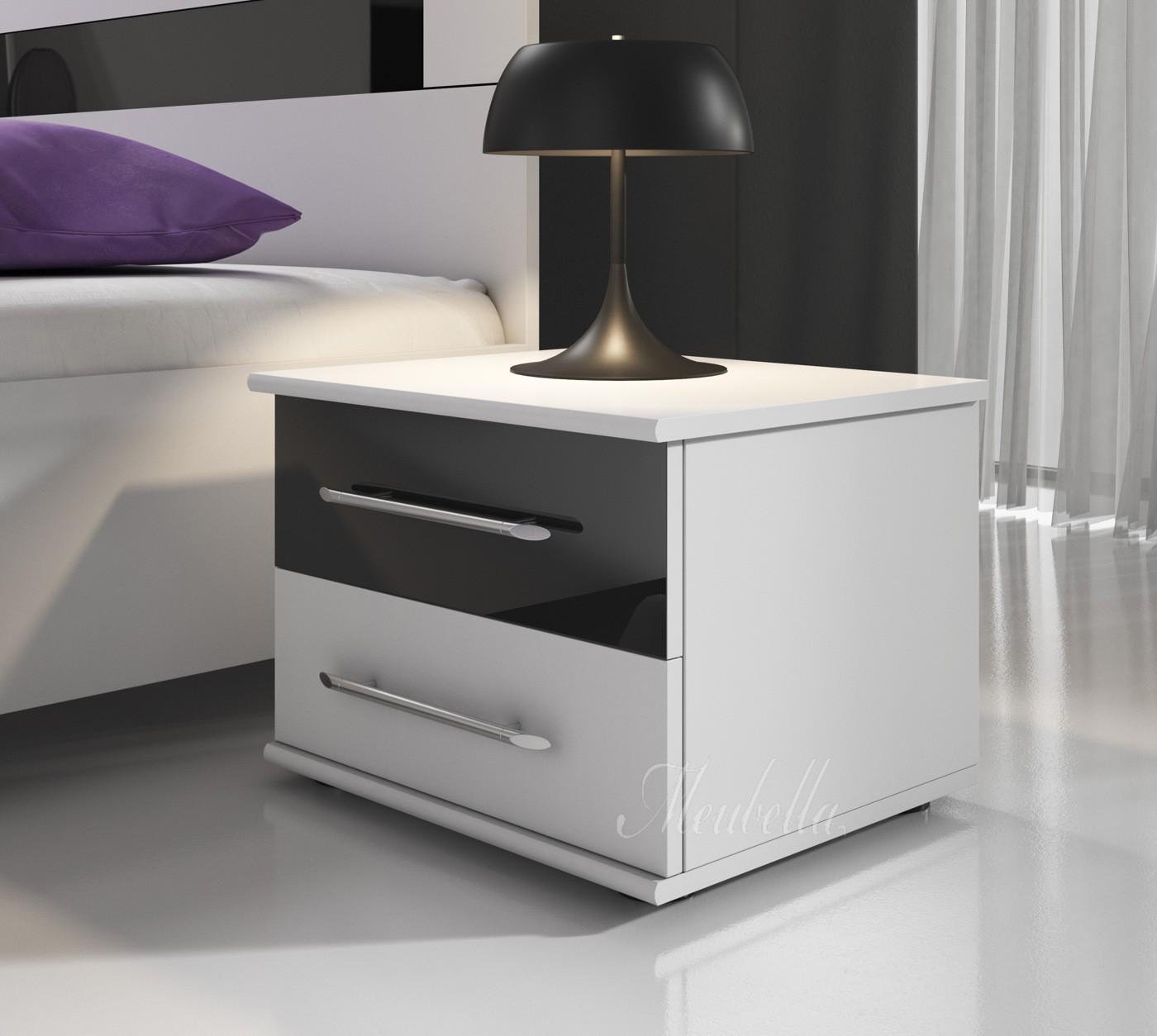 Nachtkastje zwart hoogglans indiase stalen nachtkast design meubelen en de laatste woontrends - Moderne nachtkastje ...