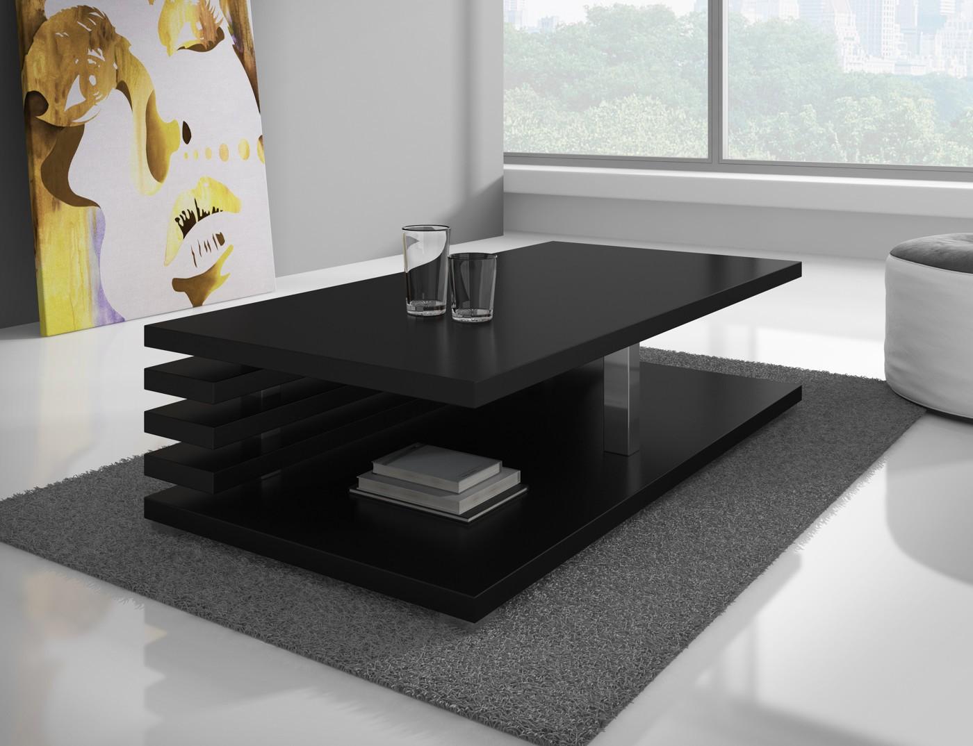 Salontafel altea zwart salontafels overig woonkamer meubella - Woonkamer in zwart ...