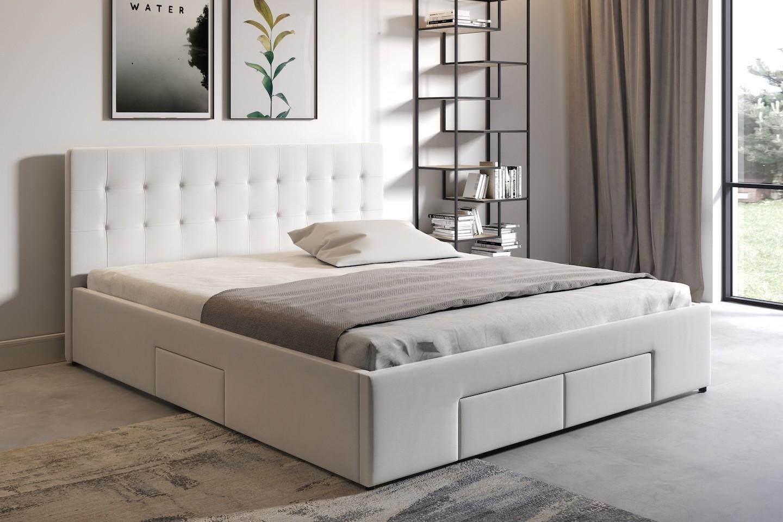 Tweepersoonsbed Beter Bed.Tweepersoonsbed Milo Wit 160x200 Cm Meubella