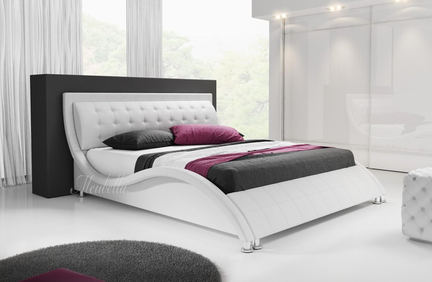 Bed 140x200 Wit.Tweepersoonsbed Sumoya Wit 140x200 Cm Meubella