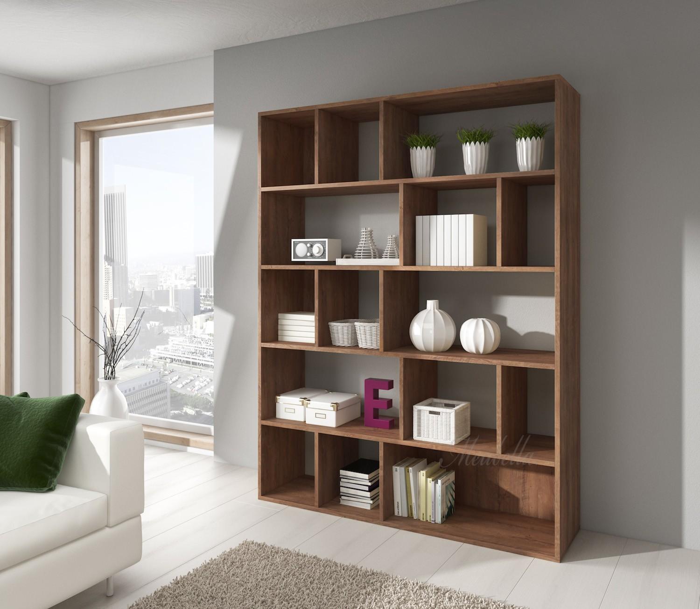 Wandmeubel boekenkast alabama eiken meubella for Boekenkast design