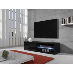 TV-meubel Bash LED - Zwart - 120 cm - ACTIE