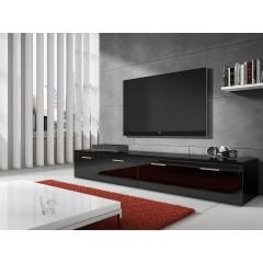 TV-Meubel Diana 1 - Zwart - 200 cm