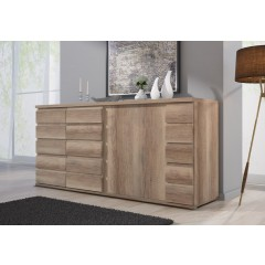 Dressoir Misty 220 - Eiken