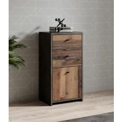 Dressoir Sahara - Old wood - Grijs - 40 cm