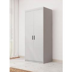 Kledingkast Estona - Wit - 90 cm