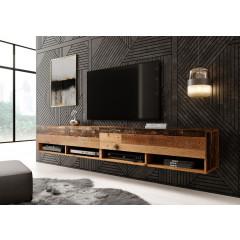 TV-Meubel Asino - Old wood - 200 cm