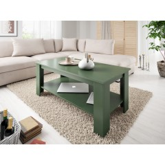 Salontafel Parello - Groen - 120 cm