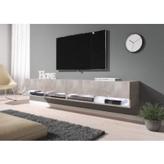 TV-Meubel Asino LED - Betonlook - 200 cm