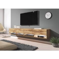 TV-Meubel Asino LED - Eiken - 200 cm