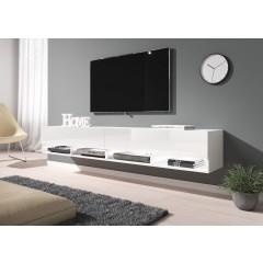 TV-Meubel Asino LED - Wit - 200 cm