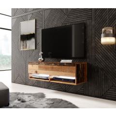 TV-Meubel Asino LED - Old wood - 100 cm