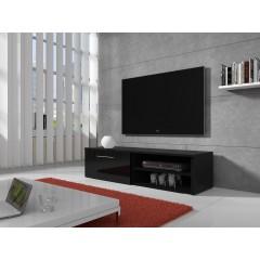 TV-meubel Bash - Zwart - 120 cm