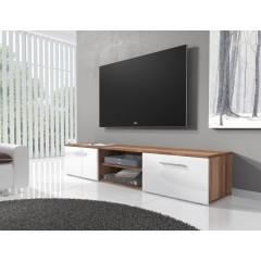 TV-Meubel Basura I - Wit - Eiken - 160 cm