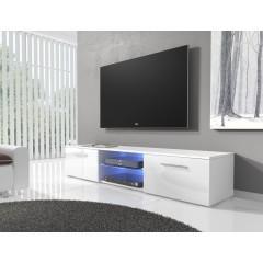 TV-meubel Basura I LED - Wit - 160 cm - ACTIE
