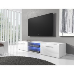 TV-meubel Basura I LED - Wit - 160 cm