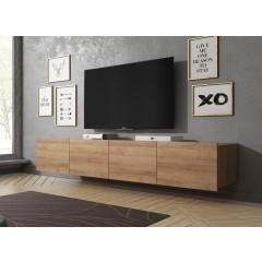 TV-Meubel Calgary - Eiken - 200 cm - Hangend of staand