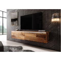 TV-Meubel Dixon - Old wood - 140 cm