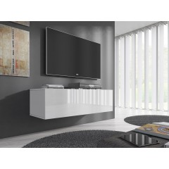 TV-Meubel Flame - Wit - 100 cm