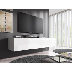 TV-Meubel Flame - Wit - 160 cm - ACTIE