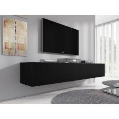 TV-Meubel Flame XL - Mat Zwart - 180 cm