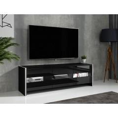 TV-Meubel Frido - Zwart - 139 cm