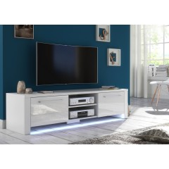 TV-Meubel Hart - Wit - 160 cm