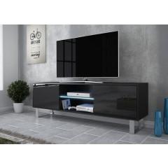 TV-Meubel Knight 2 - Zwart - 160 cm