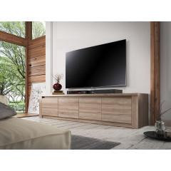 TV-Meubel Monaco - Truffel eiken - 4 deuren - 170 cm