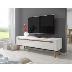TV-Meubel Nebraska - Wit - Eiken - 160 cm