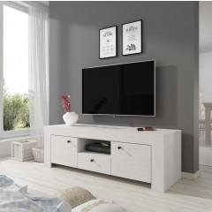 TV-Meubel Ruby - Wit eiken - 155 cm - ACTIE