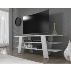TV-Meubel Valley - Wit - 130 cm